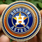 PREMIUM MLB Houston Astros Poker Card Protector Collectors Coin Golf Marker NEW