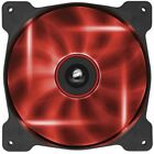 Corsair 140mm LED Red Quiet Edition High Airflow Fan