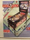 MONOPOLY By STERN 2001 PINBALL PROMO  BROCHURE-PROTECTED IN PLASTIC SLEEVE