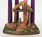 Nativity Advent Candle Holder by Fontanini