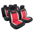Black Carbon Best Seat Cover For Trucks Suvs-front Bucket Rear Bench Protector