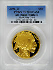 2006 W PCGS PR70 Proof Gold Buffalo 50 Beautiful PF70 Coin