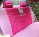 Cute Hello Kitty Car Rear Back Seat Cover Protective Interior Accessories Decor