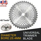 10 Inch 40T Teeth Carbide Tip Blade For Brush Cutter Trimmer Bore Dia 254mm