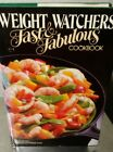 Weight Watchers Fast  Fabulous Cookbook Vintage Recipes 1983 Hardback