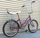 Vintage 1967 Schwinn Fair Lady Sting Ray Girls Bike OG Opal Violet Paint Clean