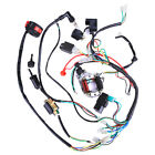 Full Electric Wiring Harness Wire Loom Stator CDI For ATV Mini QUAD 50cc 125CC