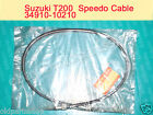 Suzuki GT200 X5 T200 Speedo Cable NOS GT250 X7 Genuine Wire 34910-10210