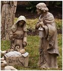 Outdoor Nativity Set Scene Christmas Decoration Yard Lawn Baby Jesus Trio Statue