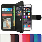 Leather Flip Case Wallet Cover Stand For Apple iPhone 7 6S 6 Plus 5S 5C 5 4 SE 8