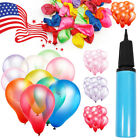 100pcs 12 Premium Latex Balloons Colorful Thickening Wedding Birthday Party USA