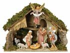 Outdoor Nativity Set Indoor Italian Stable 8 Piece Holiday Christmas Decorations