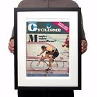Eddy Merckx Molteni 1972 Hour Record Vintage Cycling Jersey Magazine Cover Print
