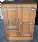 Antique Restored Ice Box 300 Henderson NV Local Pick Up Only