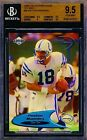 1998 98 PEYTON MANNING COLLECTORS EDGE ODYSSEY #60 RARE! BGS 9.5 COLTS RC CARD