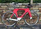 2015 Cervelo P5 Six Carbon Triathlon Bicycles 54cm w/ Shimano Dura Ace, Mavic