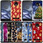 Christmas Holiday Design Case Cover for Motorola Moto Z Play Droid XT1635