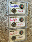 2009 Press Pass Dual Auto Lot - RANDY COUTURE - KING MO LAWAL 01 50 Rainbow UFC
