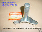 Suzuki GS750 GS1100 Rear Pedal Rod Arm NOS GSX1100 GS750E Brake Pedal 43120-4921