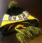 Michigan Wolverinnes Puffy Hat by New Era Fleece Lined
