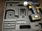 Power Pro 12V Cordless Drill Driver + 1 Battery & Accessories + Case NO CHARGER