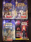 Star Wars Yoda R2D2 Luke Skywalker Darth Maul figures MOC