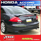 06-07 For Honda Accord Coupe Rear Trunk Spoiler Painted NH700M ALABASTER SILVER