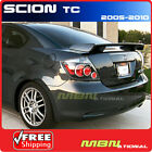 05 10 Scion Tc Rear Trunk Downforce Spoiler Painted 1F7 CLASSIC SILVER METALLIC