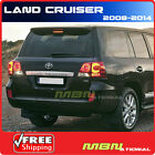 08 13 Toyota Land Cruiser Spoiler Painted Coated 1F7 CLASSIC SILVER METALLIC