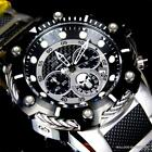 Invicta Marvel Punisher Bolt 51mm Steel Limited Ed Black Chronograph Watch New