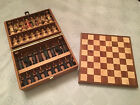 Vintage Anri Toriart Charlemagne Chess Set Hand Painted with Original Box+Board