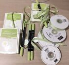 Stampin Up CERTAINLY CELERY Stamp Pads Markers Ribbon Brads GREEN