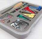 Bias Tape Maker Tool Set with Tape Binding Presser Foot for patchwork Include...