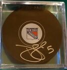 Daniel Girardi signed Hockey Puck (New York Rangers)