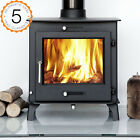 12kw OTTAWA + CLEAN BURN Contemporary Modern Woodburning Stove Stoves Multi Fuel