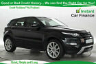 Land Rover Range Rover Evoque 22SD4 Dynamic GOOD BAD CREDIT CAR FINANCE