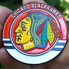 PREMIUM NHL Chicago Blackhawks Card Protector Golf Marker Collector Coin