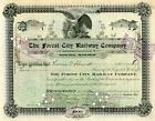 1907 Forest City RW Stock Certificate