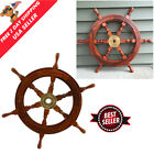 18 Pirate Ship Boat Steering Wheel Pirate Vintage Decor Wood Wall Decor Wooden