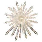 NEW NATIVITY CHRISTMAS GIANT 50 LIGHTS CRYSTAL STYLE STAR TREE TOPPER RUNDOM SP