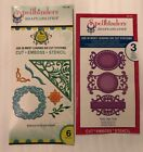 Spellbinders Shapeabilities Dies set of 2 Fancy Tags and Botanical Accents