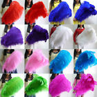 Wholesale 10 100pcs thick stem male ostrich feathers 16 32 inches 15 80 cm