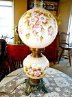 Vintage GWTW 3 Way Lamp with Round Shade
