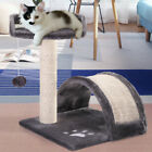 Cat Tree Post Scratcher Furniture Play House Pet Bed Kitten Toy Gray Mini New