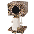 Cat Tree for Cats Kitten Condo Animal Pet Activity Furniture Scratcher Leopard