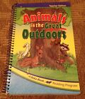 Abeka 1st Grade Reading ANIMALS IN THE GREAT OUTDOORS 16 Teacher Edition Books