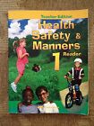 Abeka 1 HEALTH SAFETY AND MANNERS 1st Grade Teacher Edition Homeschool Books