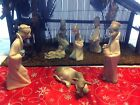 Lladro Nativity Scene 7 pc retired