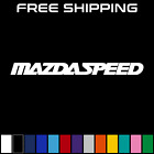 Mazdaspeed Vinyl Decal Mazda 6 3 Rx8 Protege Car Window Sticker Zoom Zoom