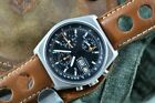 DUGENA LEMANIA 5100 MILITARY CHRONOGRAPH RARE WATCH FANTASTIC CONDITION !!